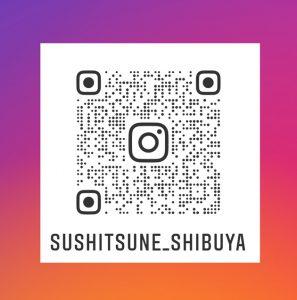 渋谷寿し常 インスタグラムQRコード